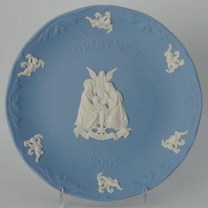 Wedgwood Jasperware Kerstbord 2001