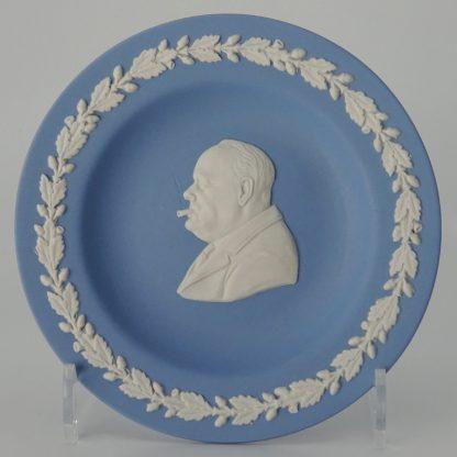 Wedgwood Jasperware Miniatuurbord Winston Churchill