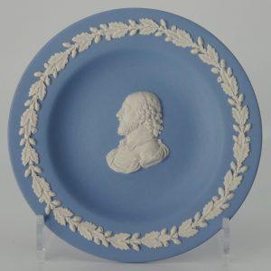 Wedgwood Jasperware Miniatuurbord William Shakespeare