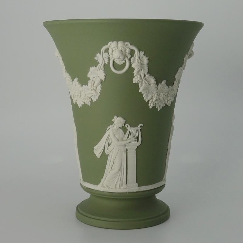 Wedgwood Jasperware Trompetvaas 15 cm