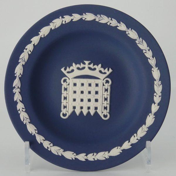 Wedgwood Jasperware Miniatuurbord Wapen van de Tudors