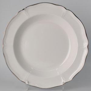 Wedgwood Queen's White Diep Bord 22.5 cm