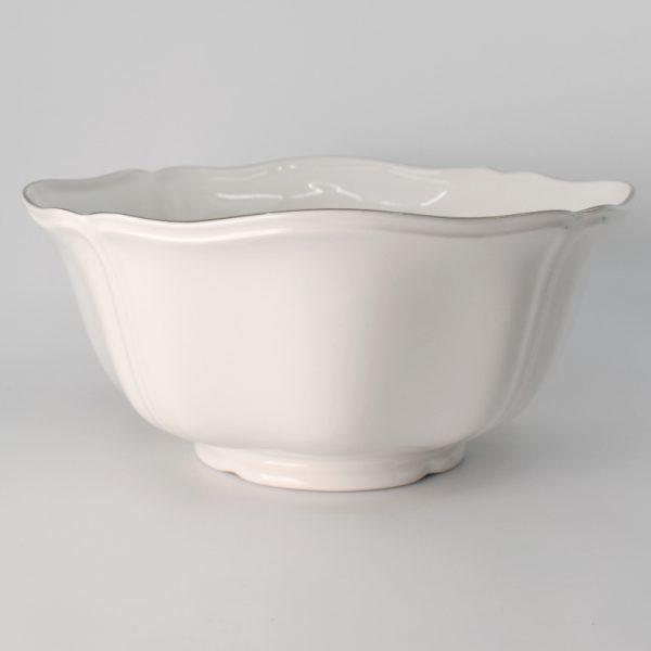 Wedgwood Queen's White Saladeschaal 20.5 cm