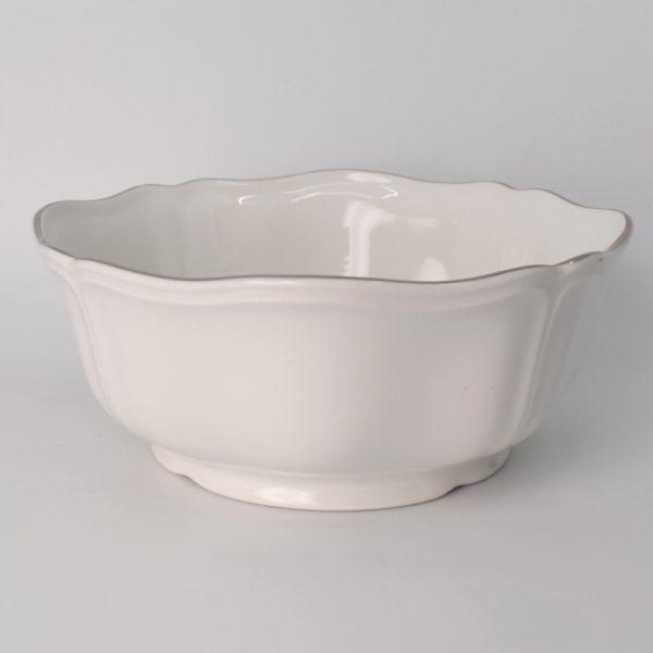 Wedgwood Queen's White Saladeschaal 23 cm